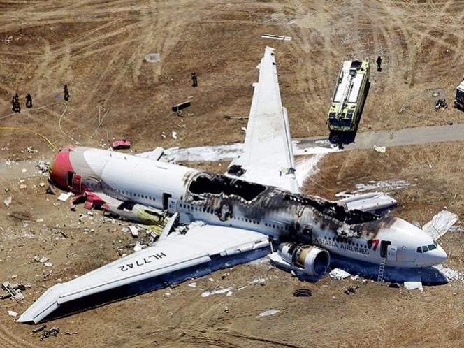 Ofrece 10 md a sobrevivientes de avionazo en San Francisco