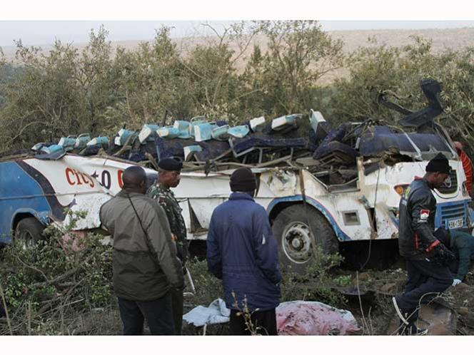 Accidente carretero en Kenia deja 41 muertos