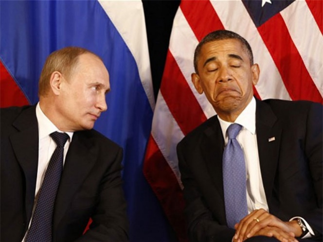 Cancela Obama reunión bilateral con Putin por caso Snowden