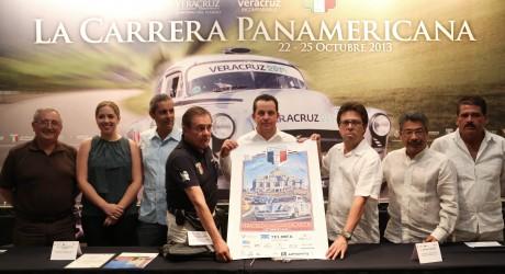 Recibirá Veracruz a participantes de 13 países en la Carrera Panamericana 2013