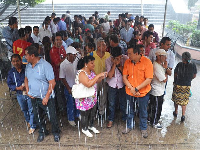 Persistirán lluvias de fuertes a intensas en la mayor parte del país