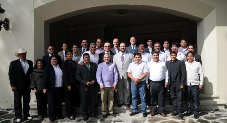 En Veracruz, se gobierna en democracia, sin distingo de ideologías: Javier Duarte