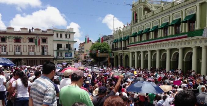 El titular de la Comisión de los Derechos Humanos del Estado exhortó a los profesores a manifestarse sin causar afectaciones a terceros