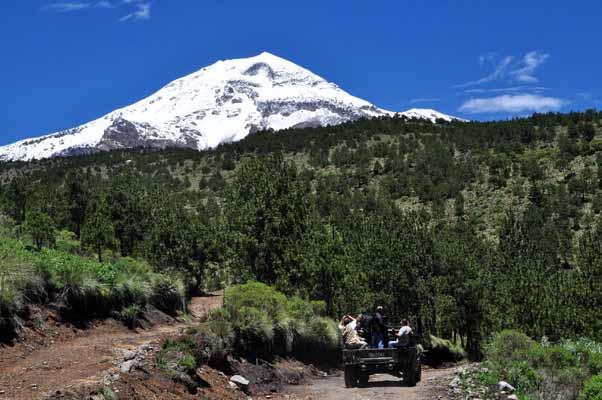 Se registran las primeras  heladas en comunidades del Pico de Orizaba