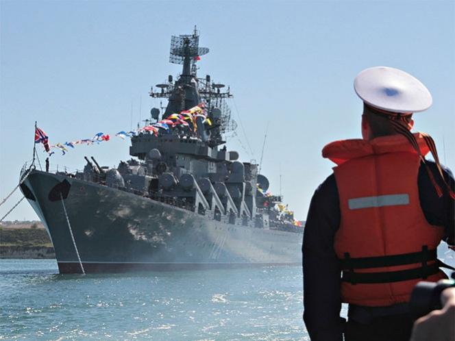Movilizan EU y Rusia barcos de guerra por conflicto sirio