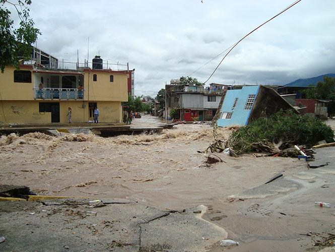 Las afectaciones de 'Ingrid' y 'Manuel' en México