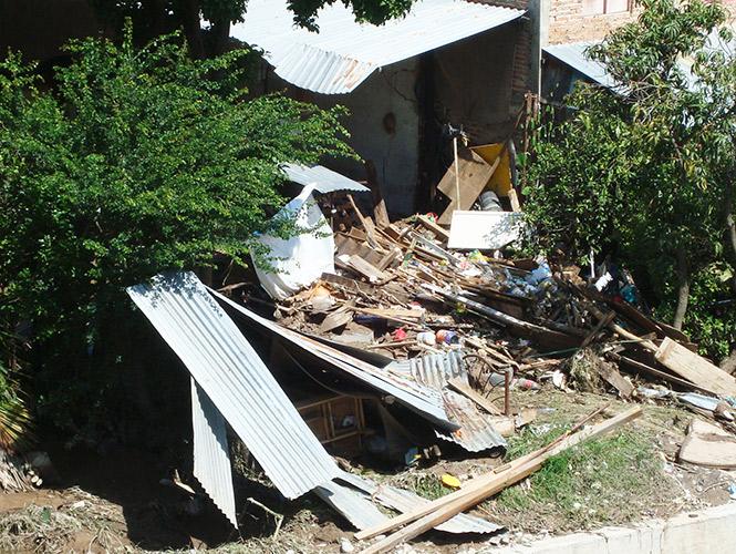 Cuantifican en Guerrero 53 mil viviendas afectadas por 'Manuel'