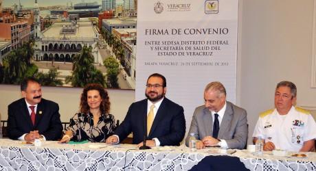 Veracruz con un sistema de salud más eficiente y preventivo: Javier Duarte