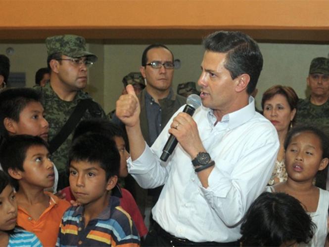 Presidente Peña Nieto alista visita a Nuevo León y Veracruz