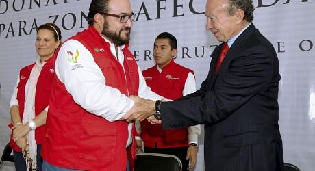 Veracruz es el futuro de México: Guillermo Ortiz