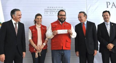En Veracruz hacemos bien las cosas; las acciones de protección civil son un ejemplo: Javier Duarte