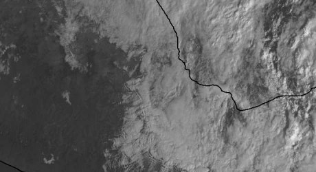 Domina cielo nublado en todo el estado por el frente frío 11: Protección Civil