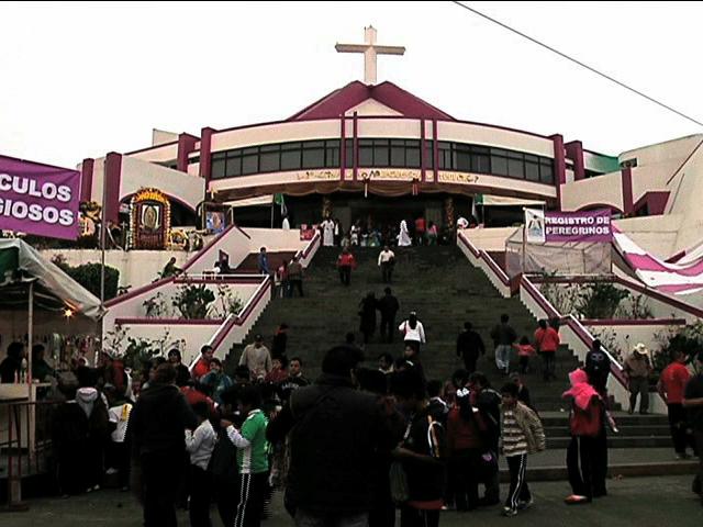 Llegan los primeros peregrinos a la Basílica de El Dique en Xalapa