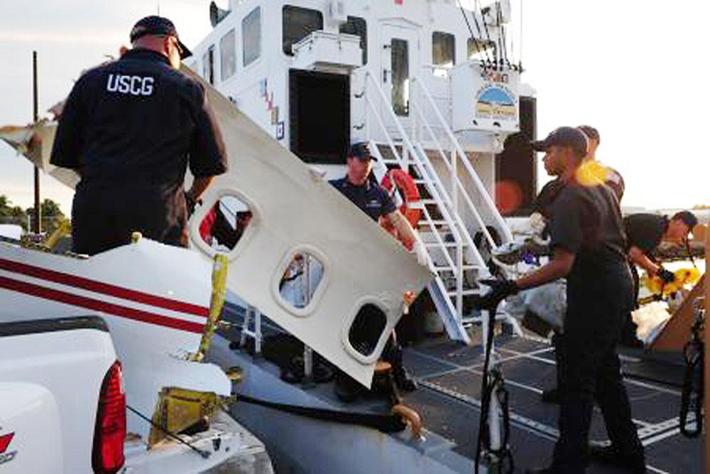 Cancela EU búsqueda de mexicanos que viajaban en avión caído en Florida