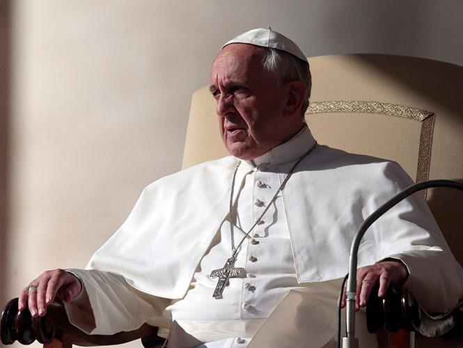 Arremete el Papa Francisco contra la 'diosa mordida'