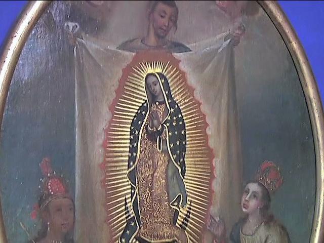 Celebran a la virgen de Guadalupe en Papantla