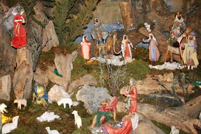 La colocación del nacimiento navideño, una tradición que se está perdiendo