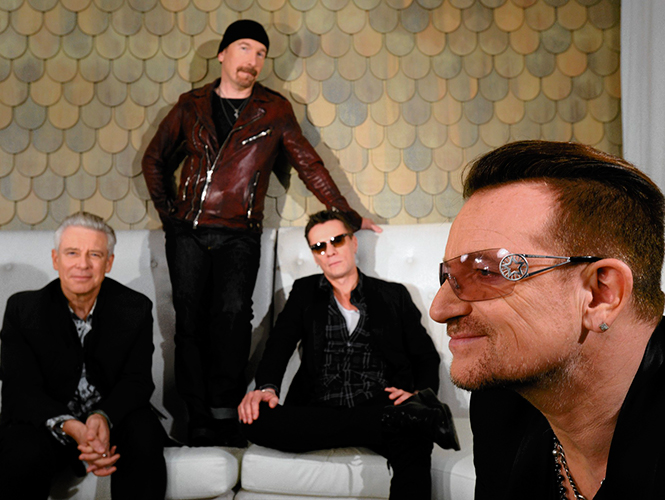 U2 estrena video de 'Ordinary Love', de la banda sonora de 'Mandela'