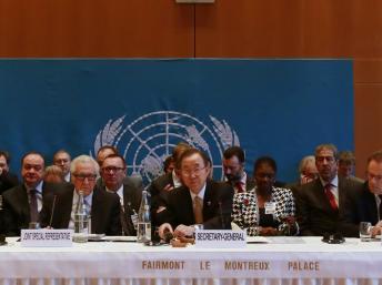 Diálogo de sordos en la conferencia de paz sobre Siria