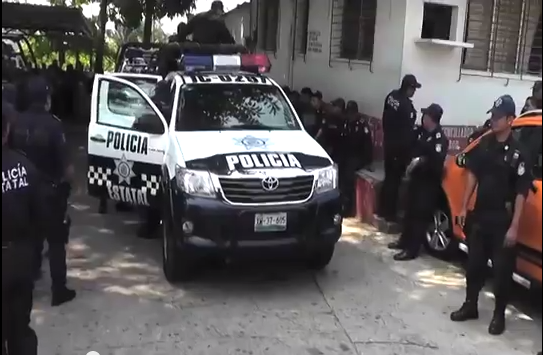 Con la llegada de más elementos de la policía estatal se genera mayor tranquilidad en Coatzacoalcos