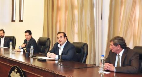 Se reúne Javier Duarte con líderes empresariales de la zona conurbada Veracruz-Boca del Río