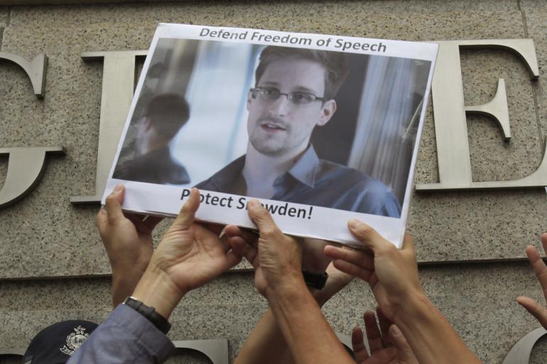 Postulan a Edward Snowden al Premio Nobel de la Paz
