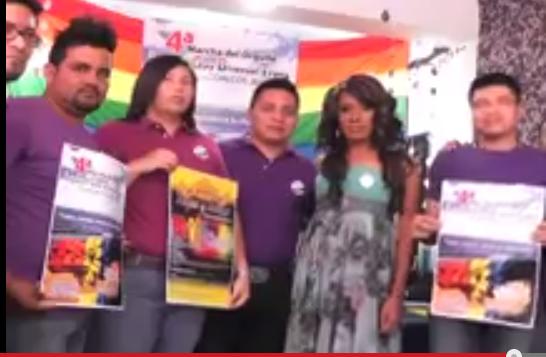 La cuarta marcha del orgullo lésbico gay se realizará el 17 de Mayo en Coatzacoalcos.