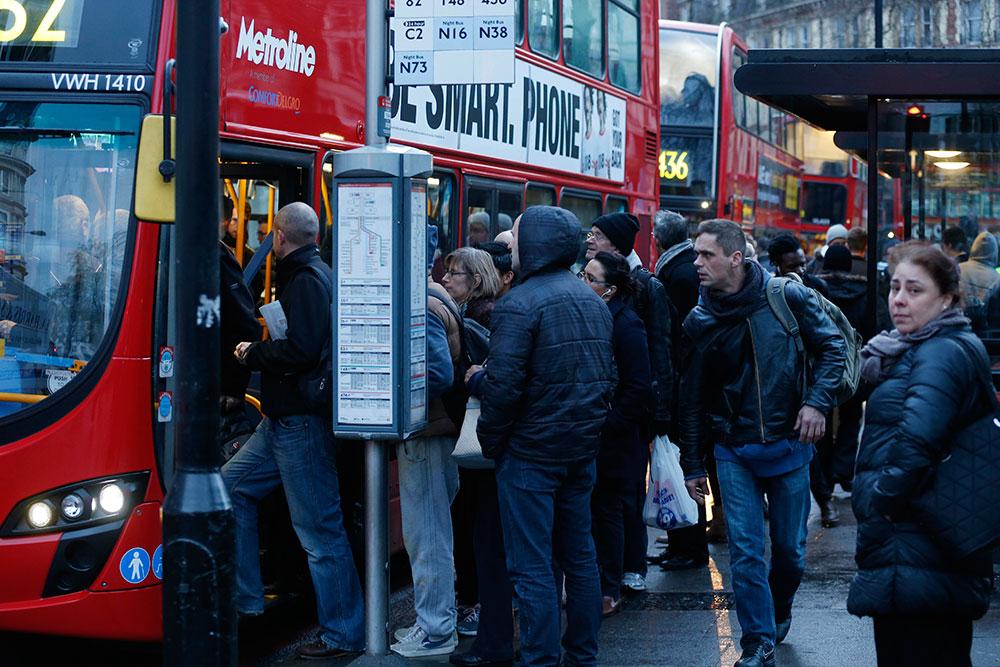 Caos en Londres por huelga en el Metro