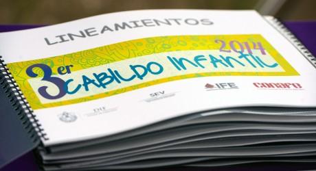 Inicia DIF Estatal inscripciones para el Tercer Cabildo Infantil