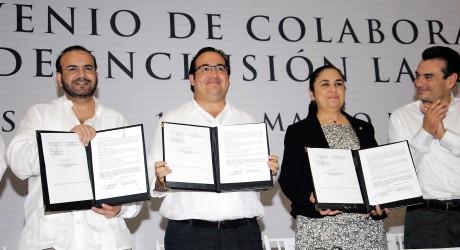 Veracruz, con gran crecimiento económico: Javier Duarte