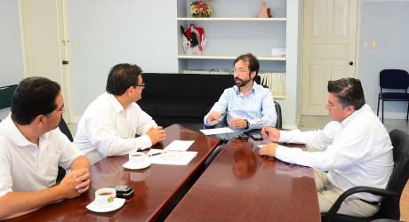Trabajo coordinado entre gobierno estatal y Cámaras Empresariales para impulsar el desarrollo económico de Veracruz