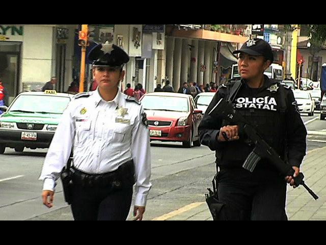 Veracruzanas acuden a conferencia internacional de mujeres policías