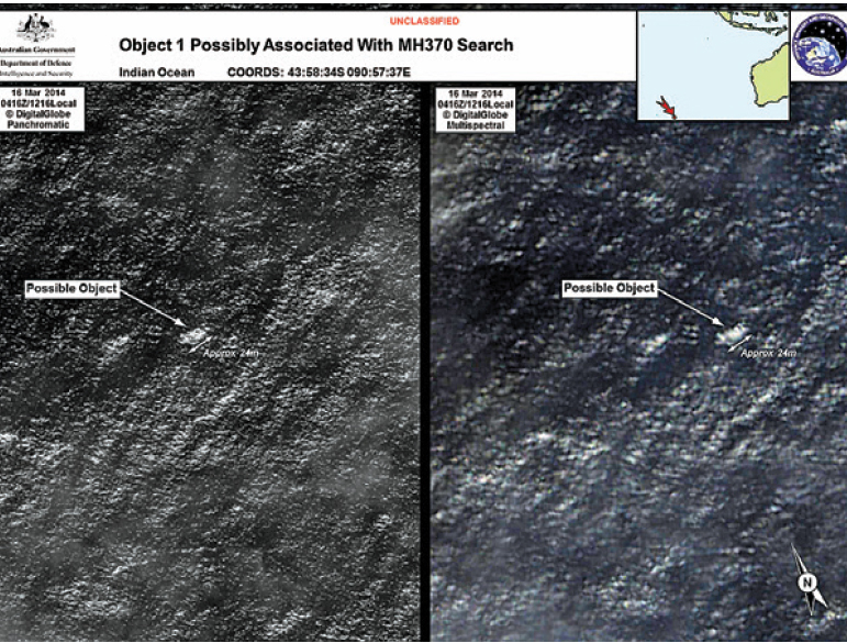 Malasia tiene pistas creíbles sobre avión desaparecido