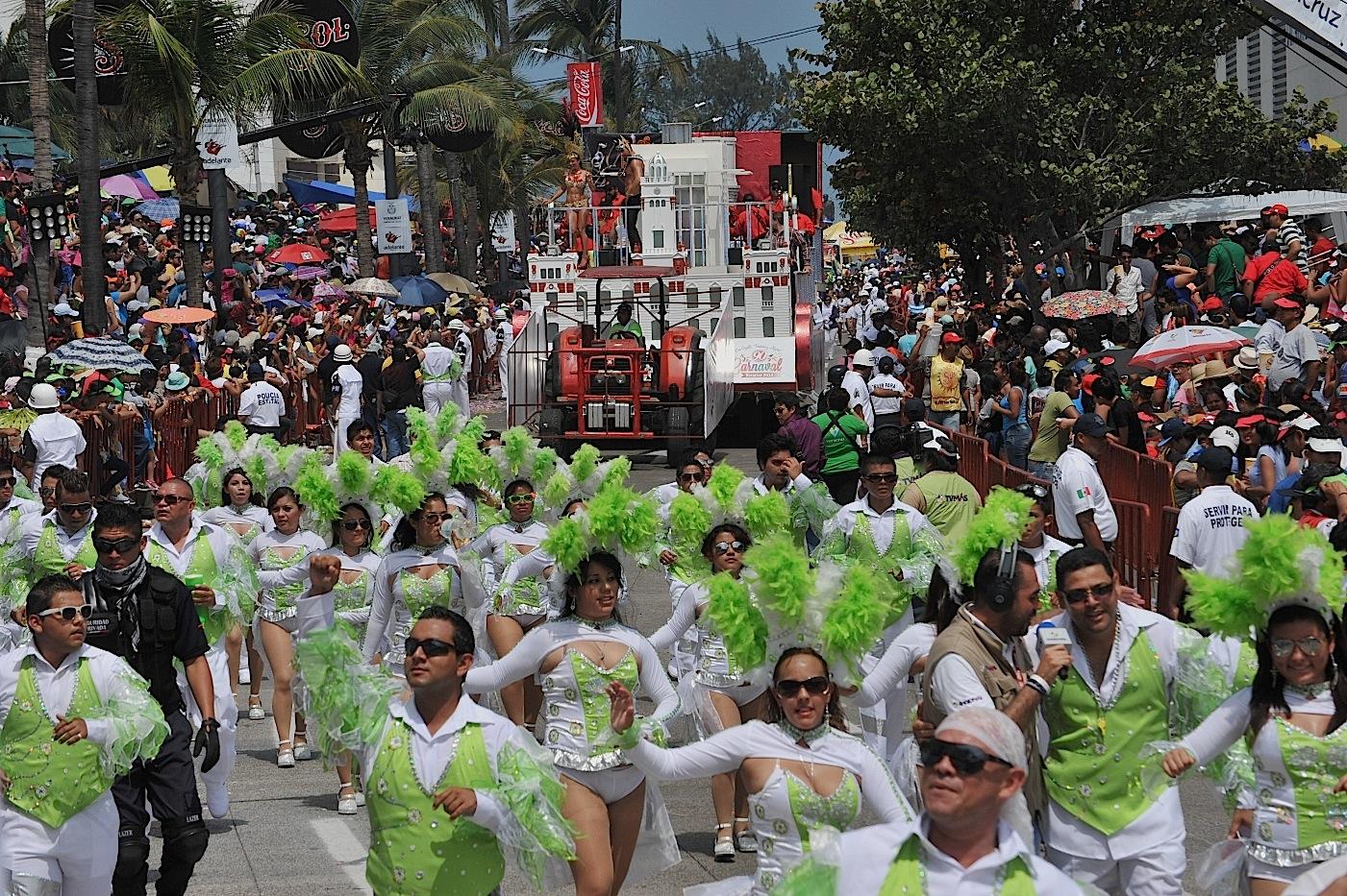 SSP reporta saldo blanco durante festejos del Carnaval de Veracruz