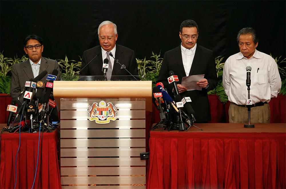 Confirma Malasia que avión extraviado se estrelló en el Océano Índico y no hay sobrevivientes