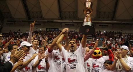 Halcones Rojos ¡Campeones de la Liga Nacional de Baloncesto!