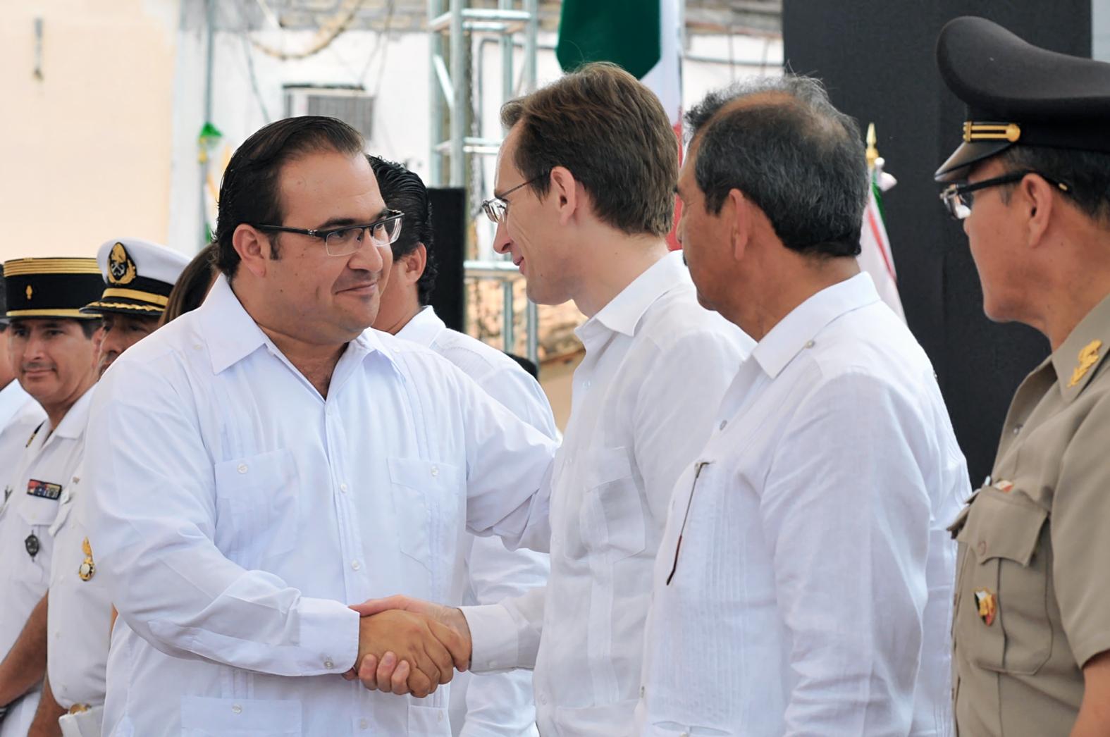 Veracruz, punto de encuentro entre México y Francia: Javier Duarte