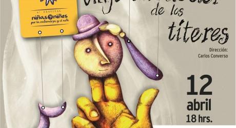 Carlos Converso estrenará obra de títeres en el Festival de Niñas y Niños del IVEC