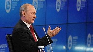 Putin dice que en Ucrania hay una «guerra civil» y que respetará el resultado de las elecciones