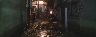 Tromba inunda docenas de casas en Santiago Miahuatlán, Puebla