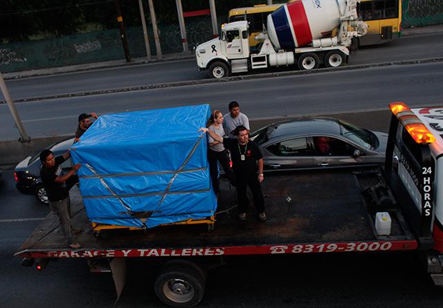 Incineran los restos de Manuel Uribe; hoy habrá una misa