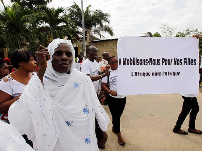 Niñas nigerianas secuestradas fueron divididas en varios grupos