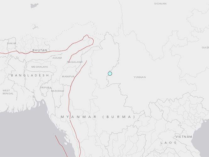 Al menos 29 personas resultan lesionadas por sismo en China
