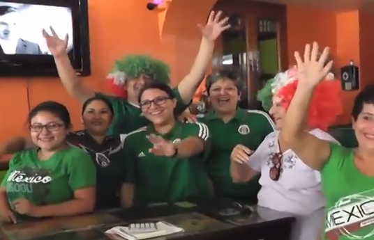 Partidos de México en el Mundial favorecen economía local