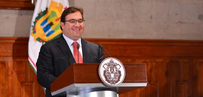 Veracruz, el estado que más aporta en obra para el crecimiento: Javier Duarte