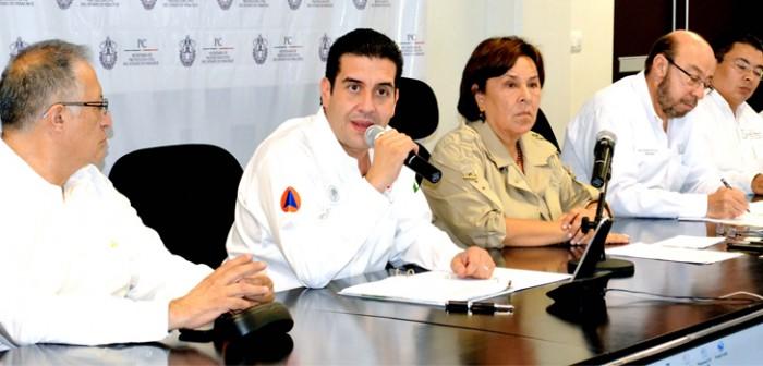 Reconoce Gobierno de la República trabajo de Veracruz ante contingencias