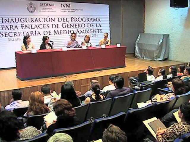 Inaugura Sedema programa para enlaces de género