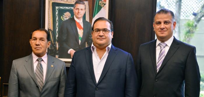 Se reúne Javier Duarte con presidentes de las comisiones de Vigilancia federal y estatal