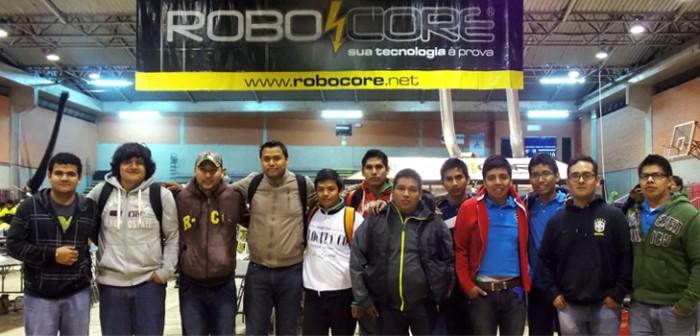 Refrendan estudiantes veracruzanos supremacía en el Robocore Winter Challenge 2014, en Brasil