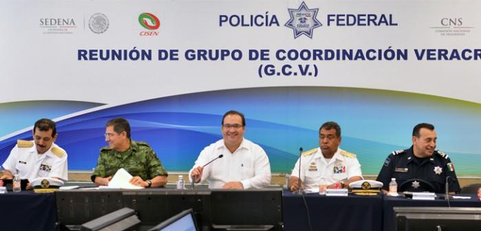Encabeza Javier Duarte reunión del Grupo de Coordinación Veracruz